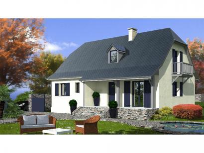 Modèle de maison PROVINCIALE 4 chambres  : Photo 1