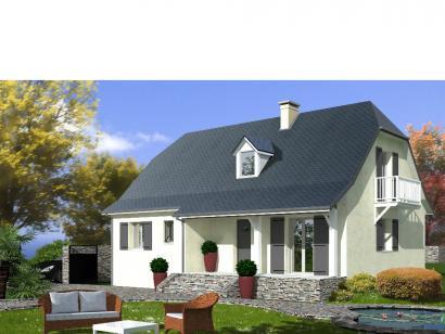 Modèle de maison PROVINCIALE 4 chambres  : Photo 2