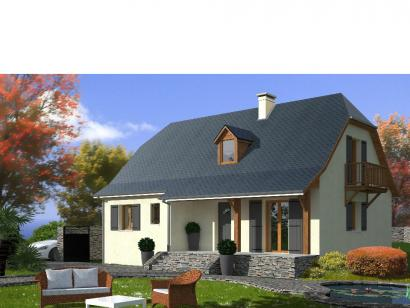 Modèle de maison PROVINCIALE 4 chambres  : Photo 3