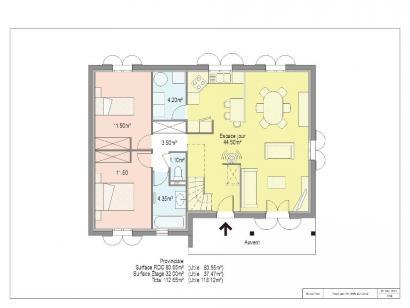 Plan de maison PROVINCIALE 4 chambres  : Photo 1