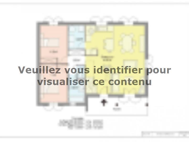 Plan de maison PROVINCIALE : Vignette 1