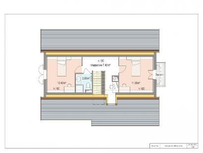 Plan de maison PROVINCIALE 4 chambres  : Photo 2