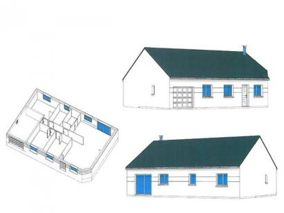 Plan de maison SM_PLP 3 chambres  : Photo 3