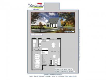Plan de maison PERSEUS 3 chambres  : Photo 1