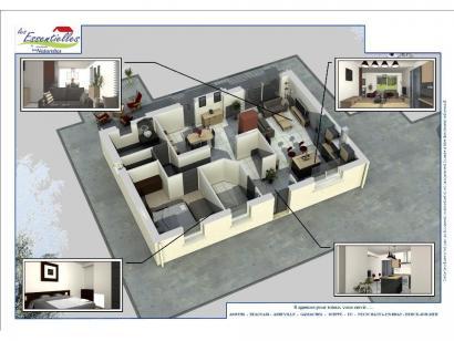 Modèle de maison HYDRA 1 chambre  : Photo 4