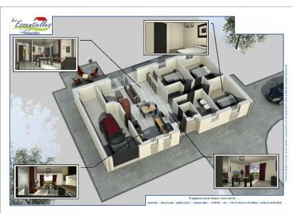 Modèle de maison CENTAURE 3 chambres  : Photo 3