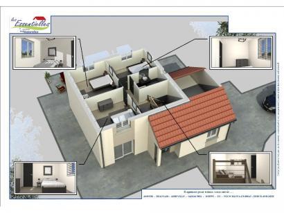 Modèle de maison CEPHEE 4 chambres  : Photo 4