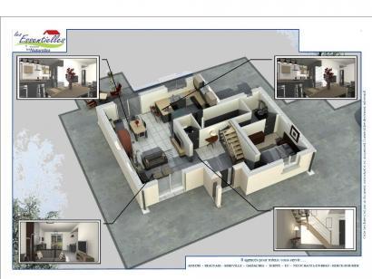 Modèle de maison CASSIOPEE 4 chambres  : Photo 2