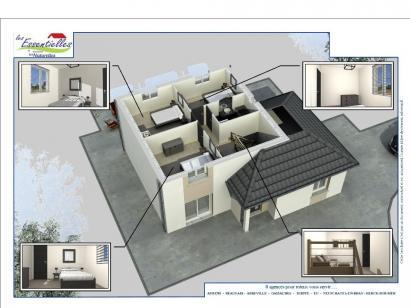 Modèle de maison CASSIOPEE 4 chambres  : Photo 3