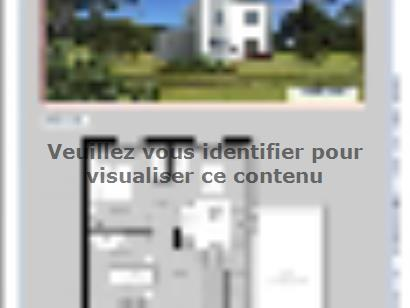 Plan de maison PERSEE 4 chambres  : Photo 2