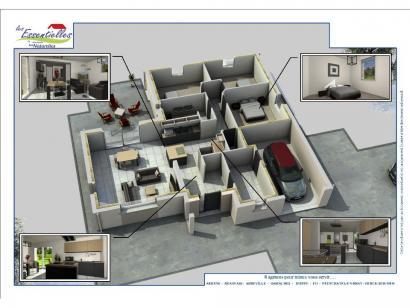 Modèle de maison L'OCTANT 3 chambres  : Photo 2