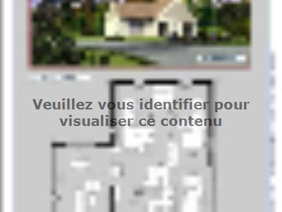 Plan de maison L'OCTANT 3 chambres  : Photo 1