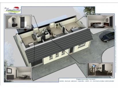 Modèle de maison ANDROMEDE 3 chambres  : Photo 3