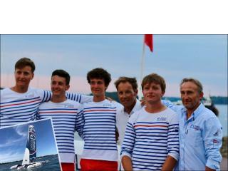 Tour Voile 2018 : le trimaran Maisons France Confort mené par Basile Bourgnon