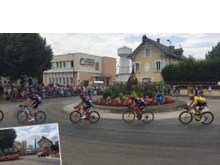 Le Tour de France vient rendre visite au siège de Maisons France Confort !