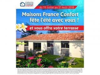 Maisons France Confort vous offre une terrasse en MIDI PYRENEES !