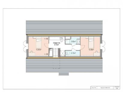 Plan de maison PRESTIGE 2 3 chambres  : Photo 2