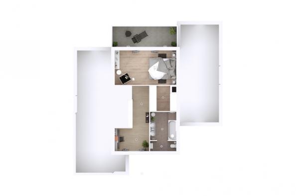 Modèle de maison Eden 3 chambres  : Photo 5