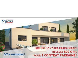 Maisons France Confort double votre parrainage en RHONE-ALPES !
