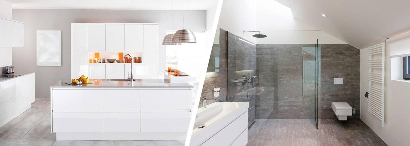 Aménager sa cuisine et sa salle de bain