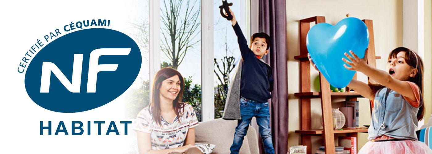 NF Maison Individuelle avec les Maisons Extraco