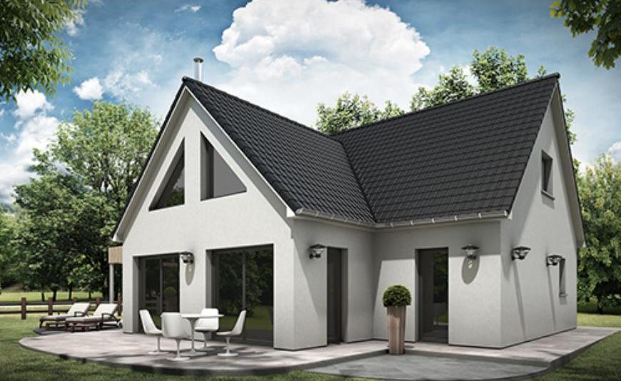 faire construire une maison moderne les maisons extraco. Black Bedroom Furniture Sets. Home Design Ideas
