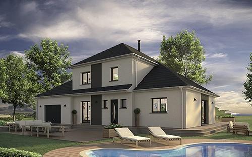 Merveilleux Construire Une Maison Contemporaine