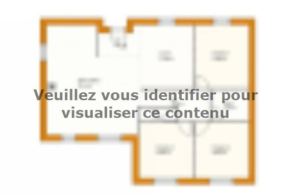 Plan de maison St Martin Contemporaine  : Photo 1