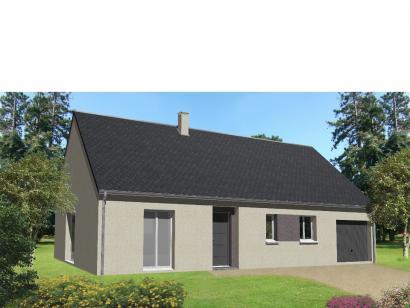 Maison neuve  à  Cinq-Mars-la-Pile (37130)  - 156798 € * : photo 1