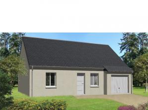 Maison neuve à Parçay-Meslay (37210)<span class='prix'> 197000 €</span> 197000