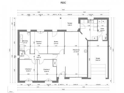 Maison neuve  à  Monnaie (37380)  - 204000 € * : photo 3
