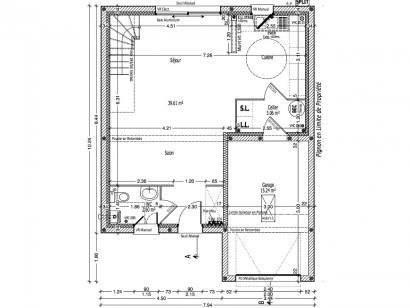 Maison neuve  à  Parçay-Meslay (37210)  - 213000 € * : photo 1