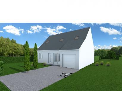Maison neuve  à  Parçay-Meslay (37210)  - 216000 € * : photo 1