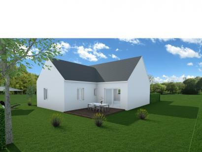 Maison neuve  à  Parçay-Meslay (37210)  - 202000 € * : photo 1