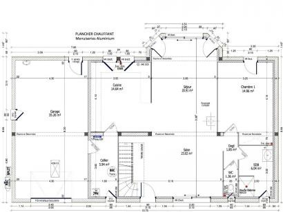 Maison neuve  à  Fondettes (37230)  - 370000 € * : photo 1