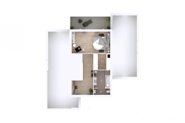 Modèle de maison Eden 3 chambres  : Photo 6