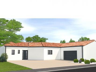 Modèle de maison Avant projet Challans - 5 chambres - 136m² 5 chambres  : Photo 1