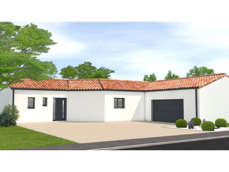 Modèle de maison Avant projet Challans - 5 chambres - 136m² : Vignette 1