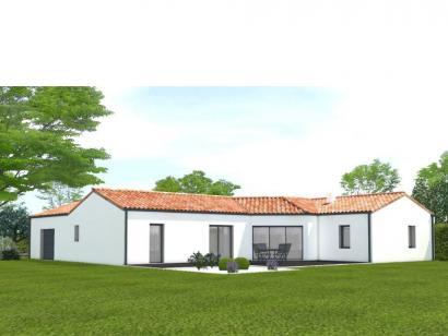 Modèle de maison Avant projet Challans - 5 chambres - 136m² 5 chambres  : Photo 2
