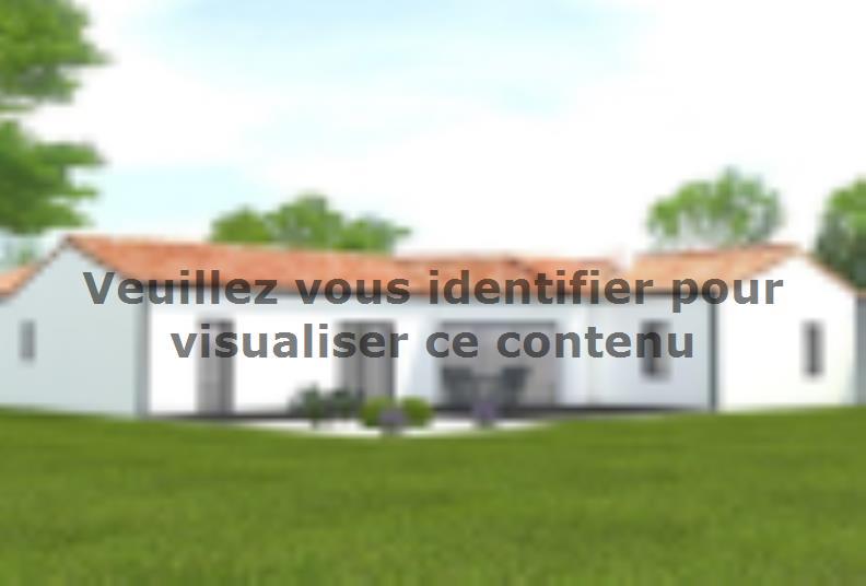 Modèle de maison Avant projet Challans - 5 chambres - 136m² : Vignette 2