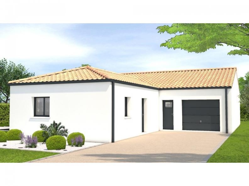 Modèle de maison Avant projet Les Herbiers - 2 chambres + 1 bureau : Vignette 1