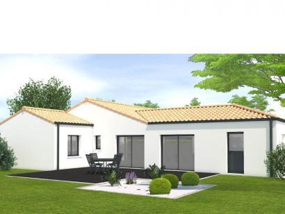 Modèle de maison Avant projet Les Herbiers - 2 chambres + 1 bureau 3 chambres  : Photo 2