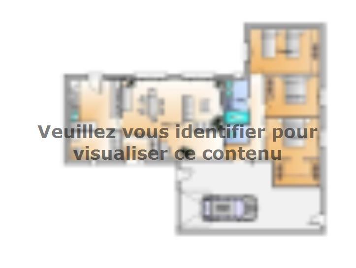 Modèle de maison Avant projet Les Herbiers - 2 chambres + 1 bureau : Vignette 3