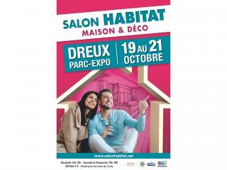 Salon de l'Habitat de Dreux (28) du 19 au 21 octobre