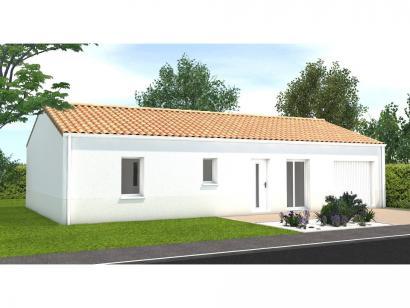 Modèle de maison Avant projet Saint Cyr En Talmondais - 3 chambres  : Photo 1