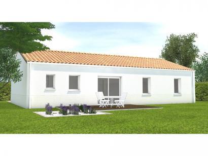 Modèle de maison Avant projet Saint Cyr En Talmondais - 3 chambres  : Photo 2
