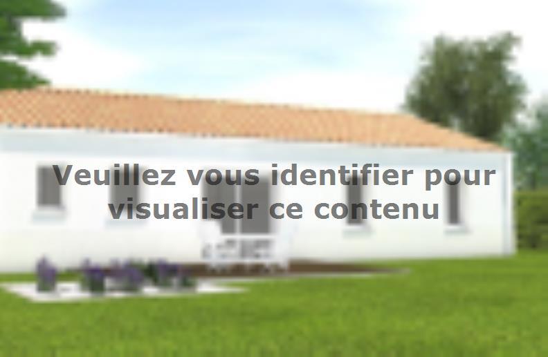 Modèle de maison Avant projet Saint Cyr En Talmondais - 3 chambres : Vignette 2