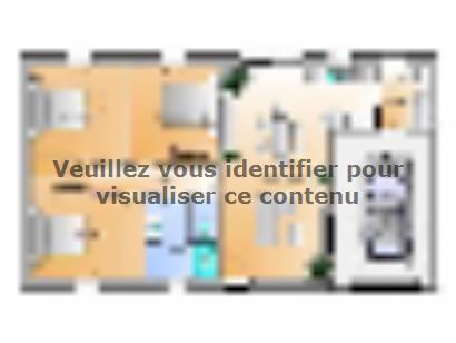 Plan de maison Avant projet Saint Cyr En Talmondais - 3 chambres  : Photo 1