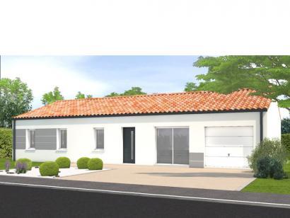 Modèle de maison Avant projet Beauvoir Sur Mer - 4ch + 1 bureau 4 chambres  : Photo 1