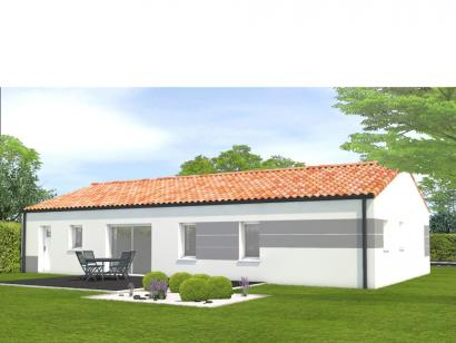 Modèle de maison Avant projet Beauvoir Sur Mer - 4ch + 1 bureau 4 chambres  : Photo 2
